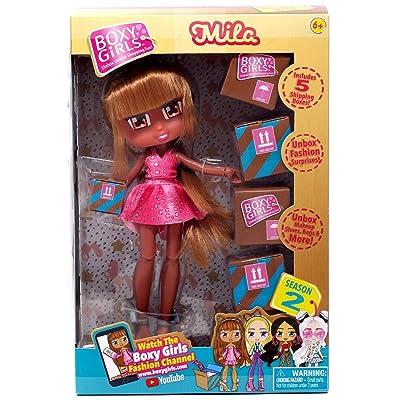 Jay at Play Boxy Girls Series 2 Doll, Mila: Toys & Games