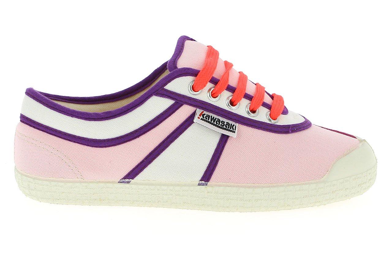 Kawasaki Hot Shot- Zapatillas para Mujer 37 EU|Light Pink/Navy