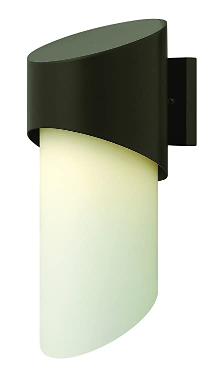 Hinkley 1666BZ Transitional One Light Wall Mount from Luna collection in Bronze//Darkfinish,