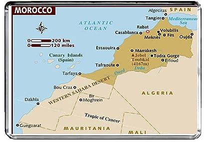 Carte Du Maroc Amazone
