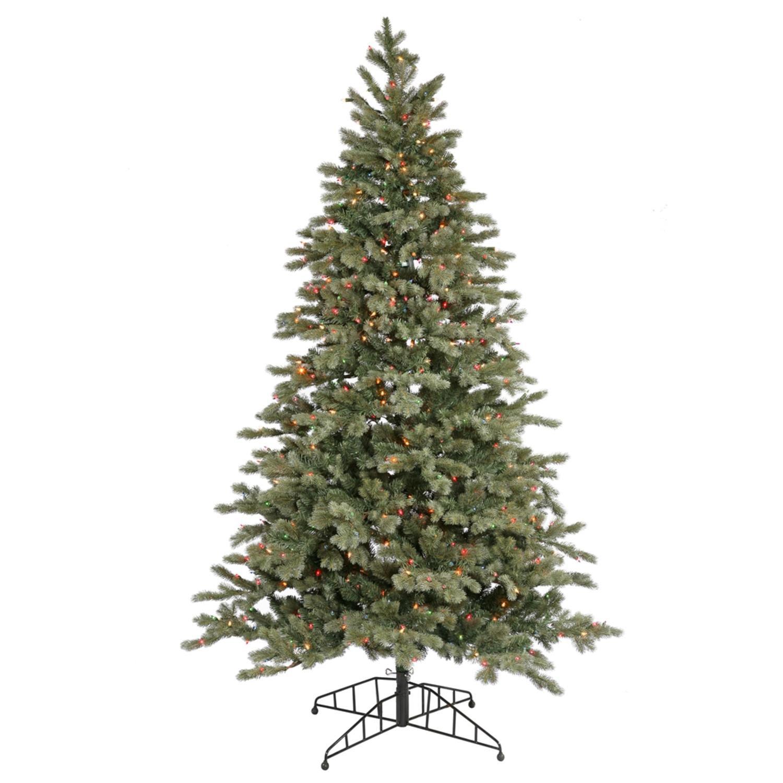 12 Medium Blue Balsam Fir Artificial Christmas Tree  Multi