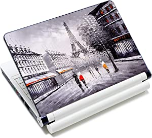 Eiffel Tower 11.6 13 13.3 14 15 15.6 inches Netbook Laptop Skin Sticker Reusable Protector Cover Case for Laptop Notebook FY-NEK-19