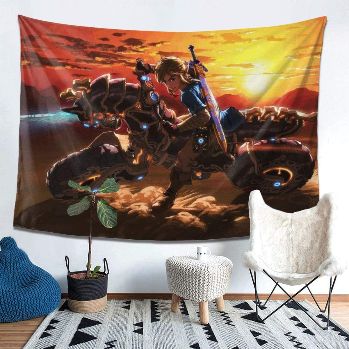 Home Decor Anime Tapestry Wall Decor Blanket How to Train Your Dragon Tapestry