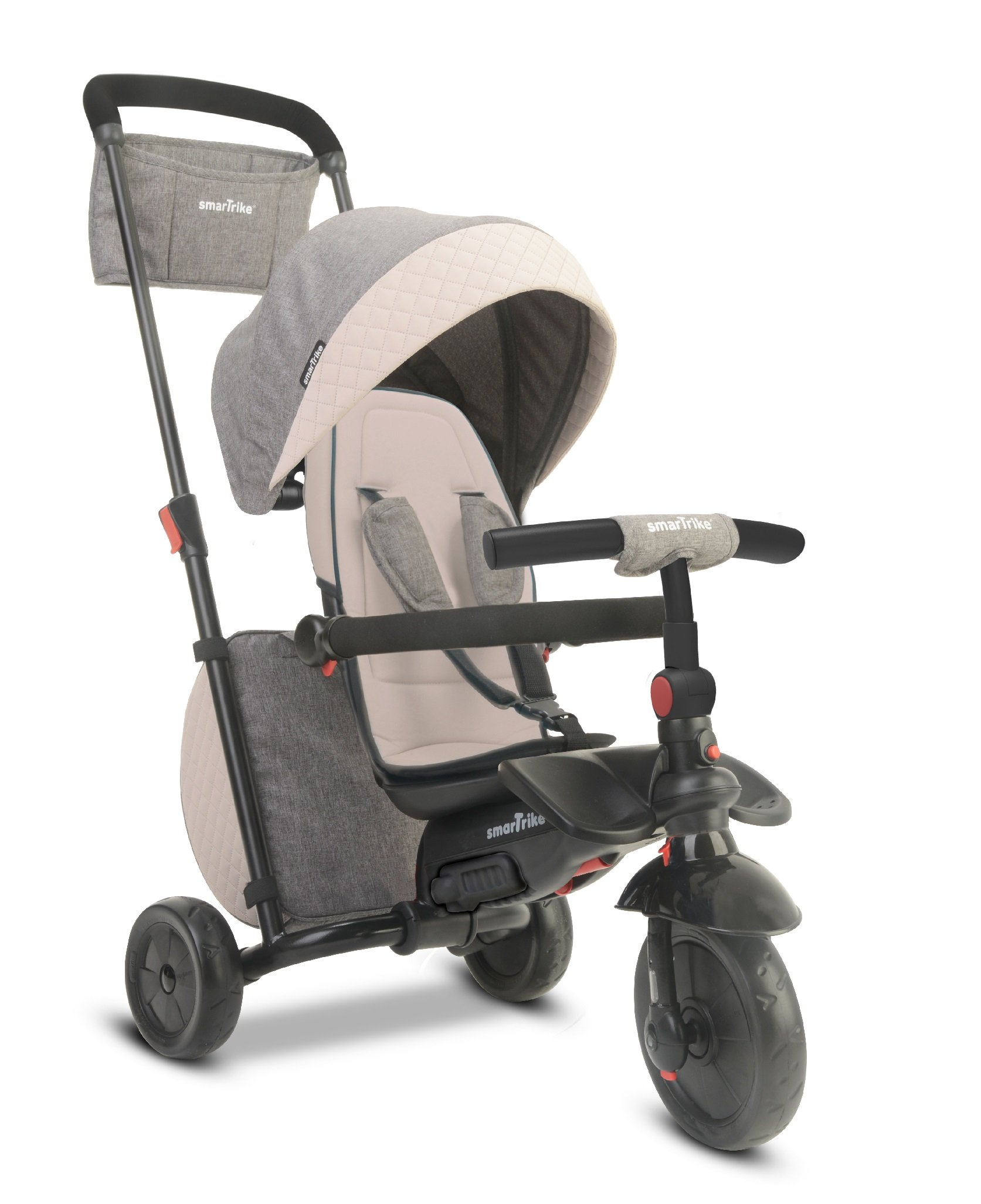 smarTrike Smartfold 600 Baby Tricycle, Grey