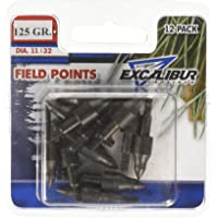 Excalibur Field Points, 11/32 Pulgadas, 12 Paquetes de 125 Frijoles.