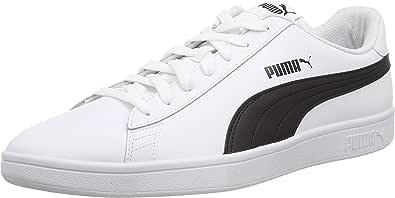 PUMA Smash V2 L Jr, Zapatillas Bajas Unisex Adulto