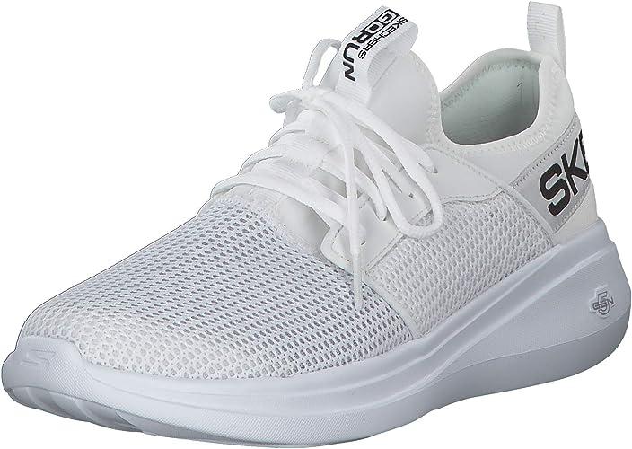 Skechers Go Run Herren Sneaker Low Weiß Schuhe: