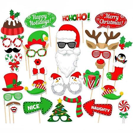 Amaoma Fotocall Photocall Accesorio Navidad Photobooth Props ...