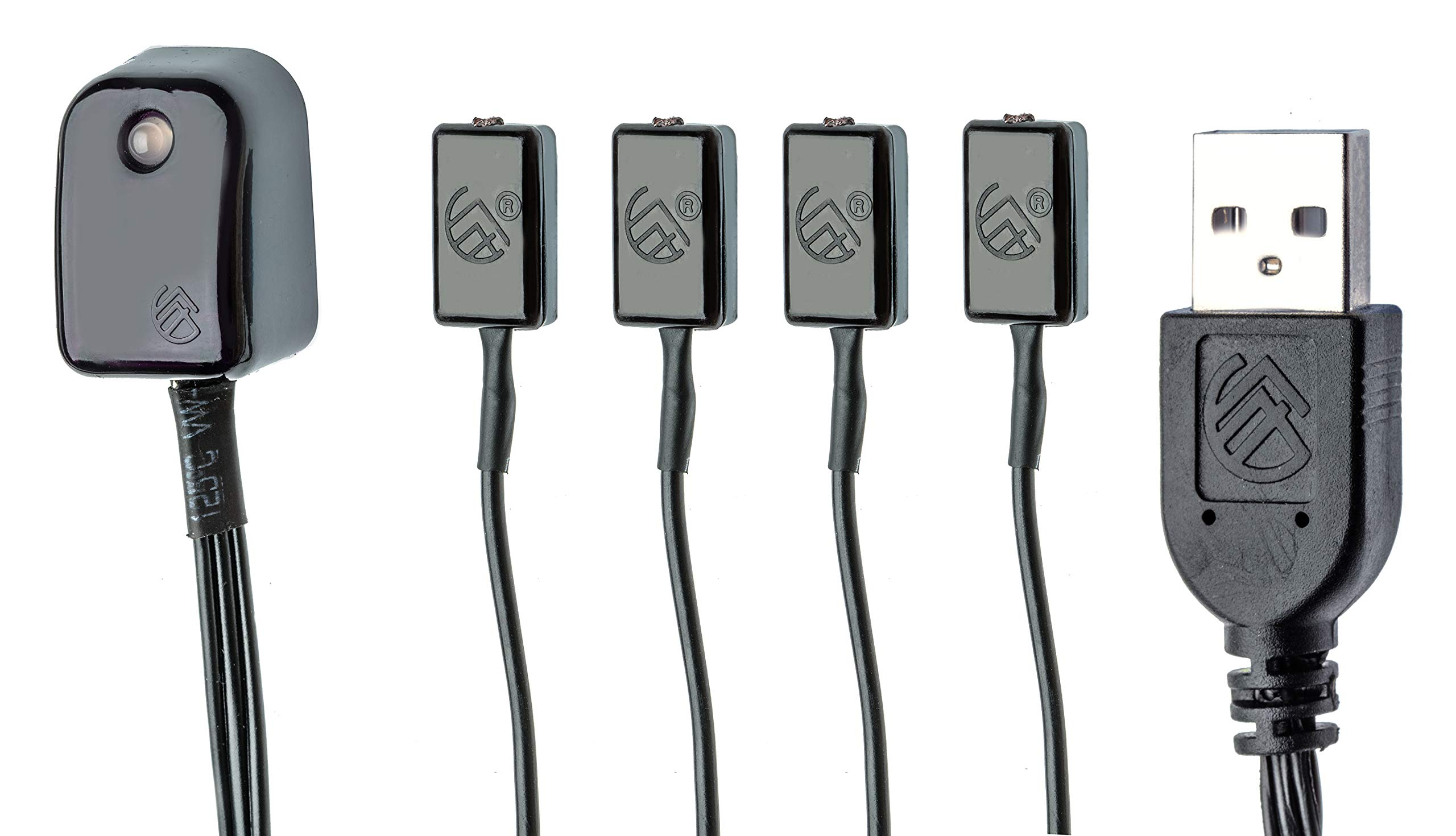 BAFX Products - All-in-One Infrared IR Repeater Kit/Remote Control Extender Cable / 1, 2 or 4 Device Control