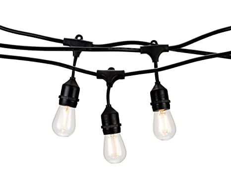 Amazon.com: Iluminación LED Patio cuerdas de luz de grado ...