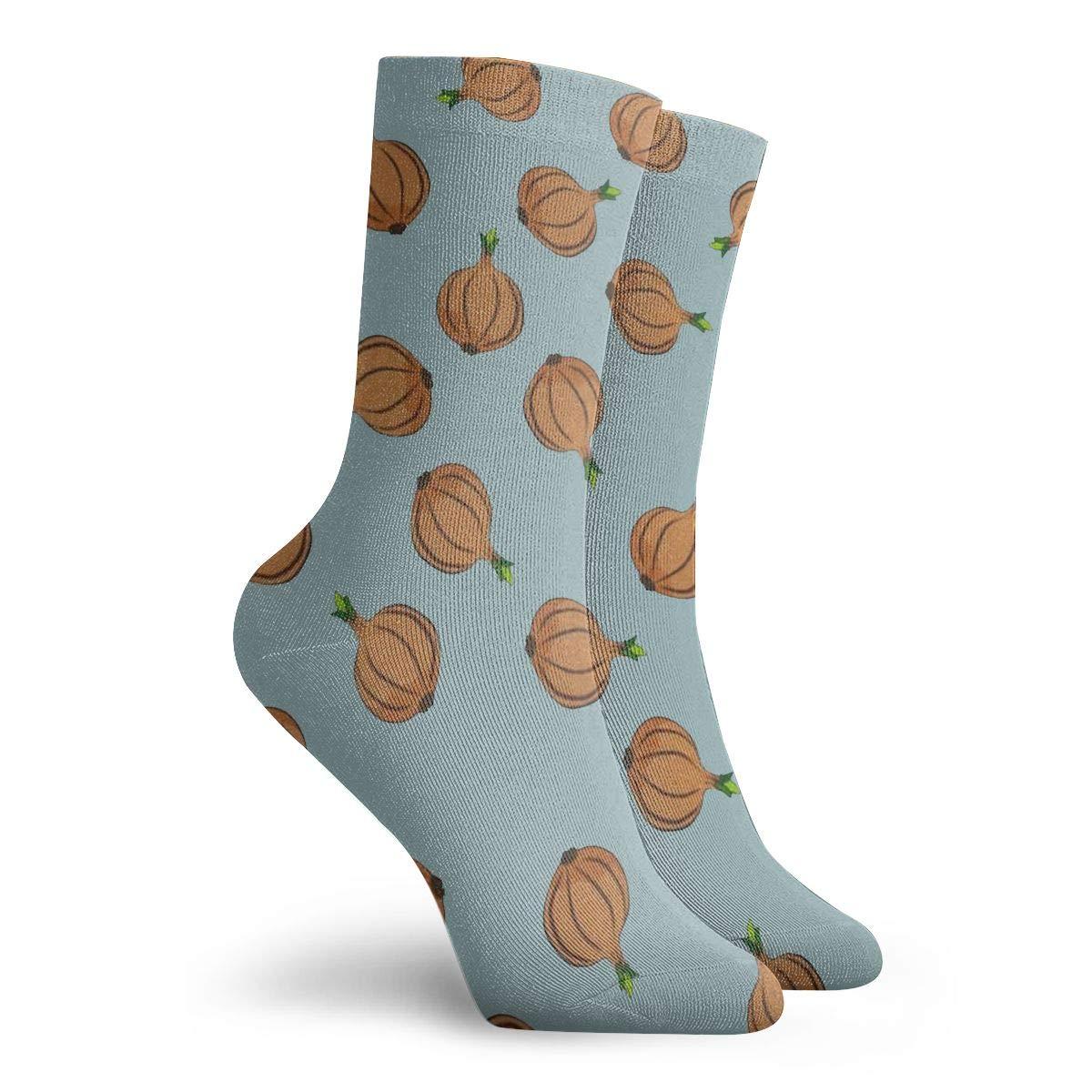 Garlic Unisex Funny Casual Crew Socks Athletic Socks For Boys Girls Kids Teenagers