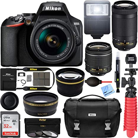 Amazon.com: Nikon D3500 24,2 MP cámara réflex digital con ...