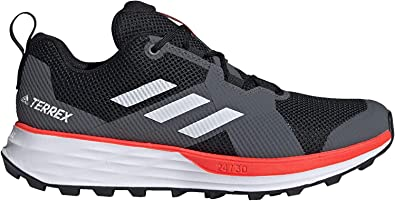 adidas Terrex Two Trail Running Shoes Men's, Black, Size 7