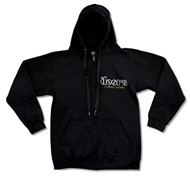 Adult The Doors u0026quot;Venice Beachu0026quot; Black Zip Hoodie ...  sc 1 st  Amazon.com & Amazon.com: Adult The Doors
