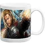 Comic Book Hero 11 ounce Ceramic Coffee Mug Tea Cup by Compass Litho