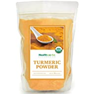 Healthworks Turmeric Root Powder (Curcumin) Organic, 1lb, (packaging may vary)