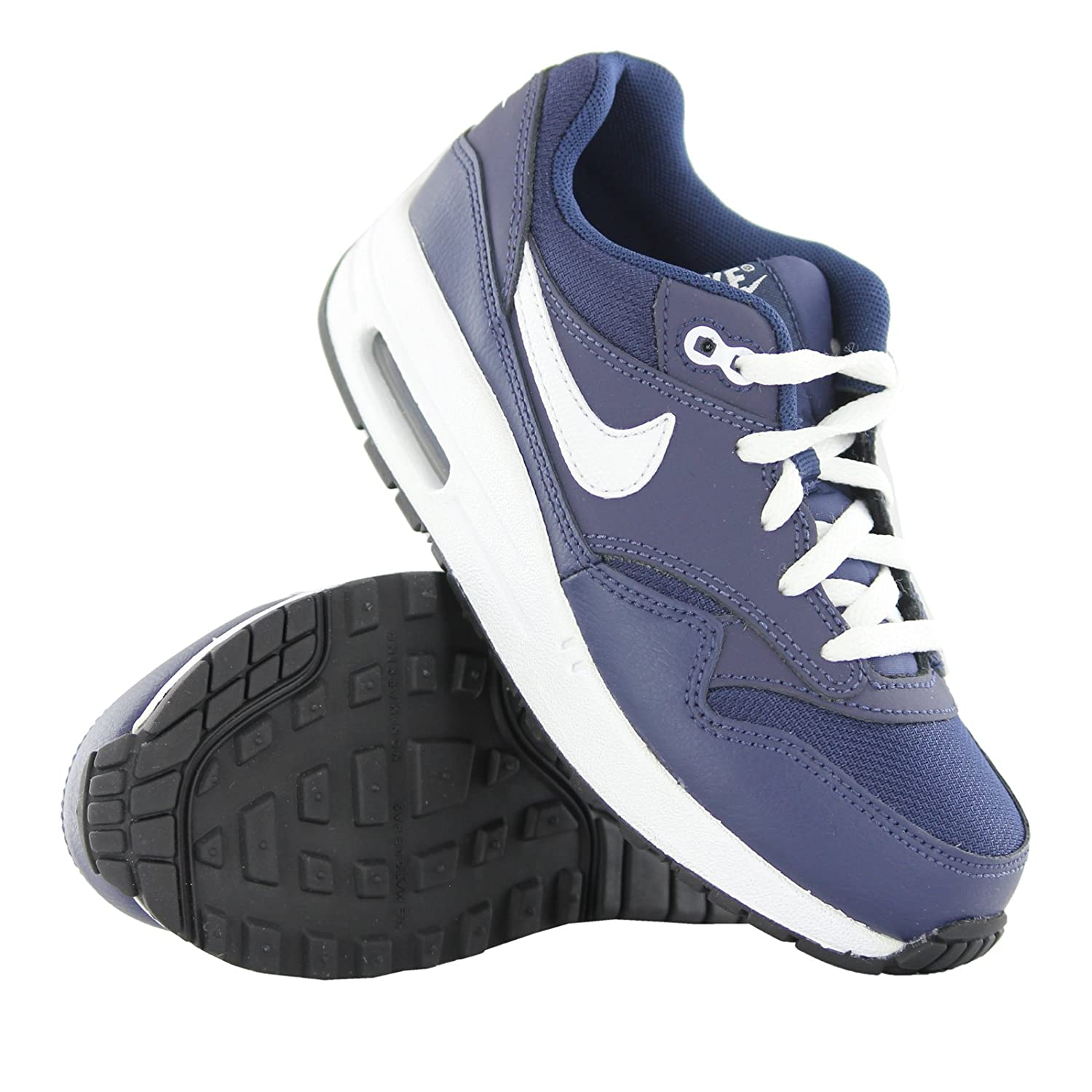 Nike Air Max (GS) Junior 1 Midnight Navy White UK 3.5