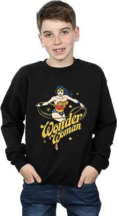 DC Comics Niños Wonder Woman Stars Camisa De Entrenamiento