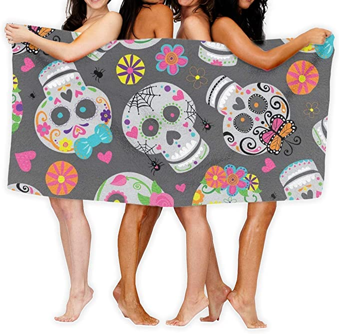 acheter serviette tete de mort online 24