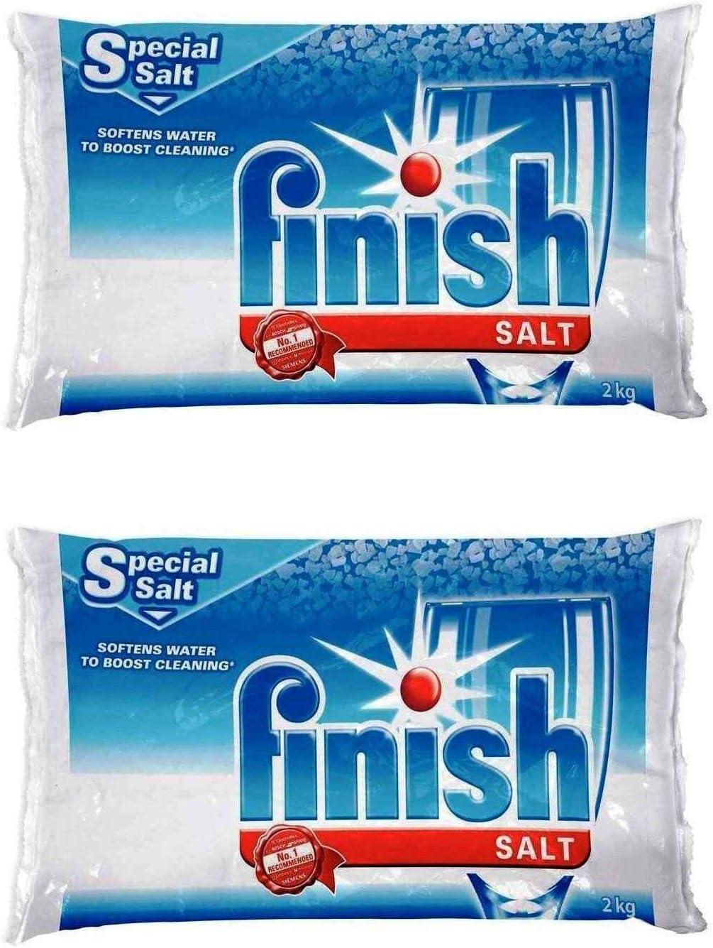 Amazon.com: Sal ablandora de agua de lavaplatos para ...