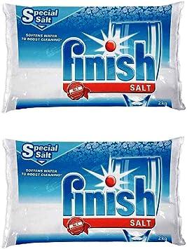 Finish Lavavajillas ablandador de Agua Sal para lavavajillas Bosch ...