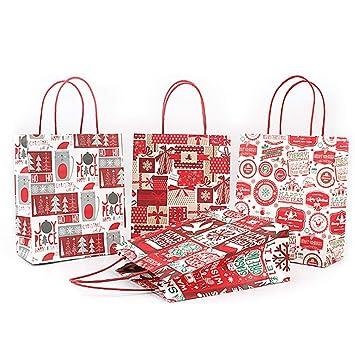 Toyvian Regalo de la Navidad Bolsas Grandes, portátiles ...