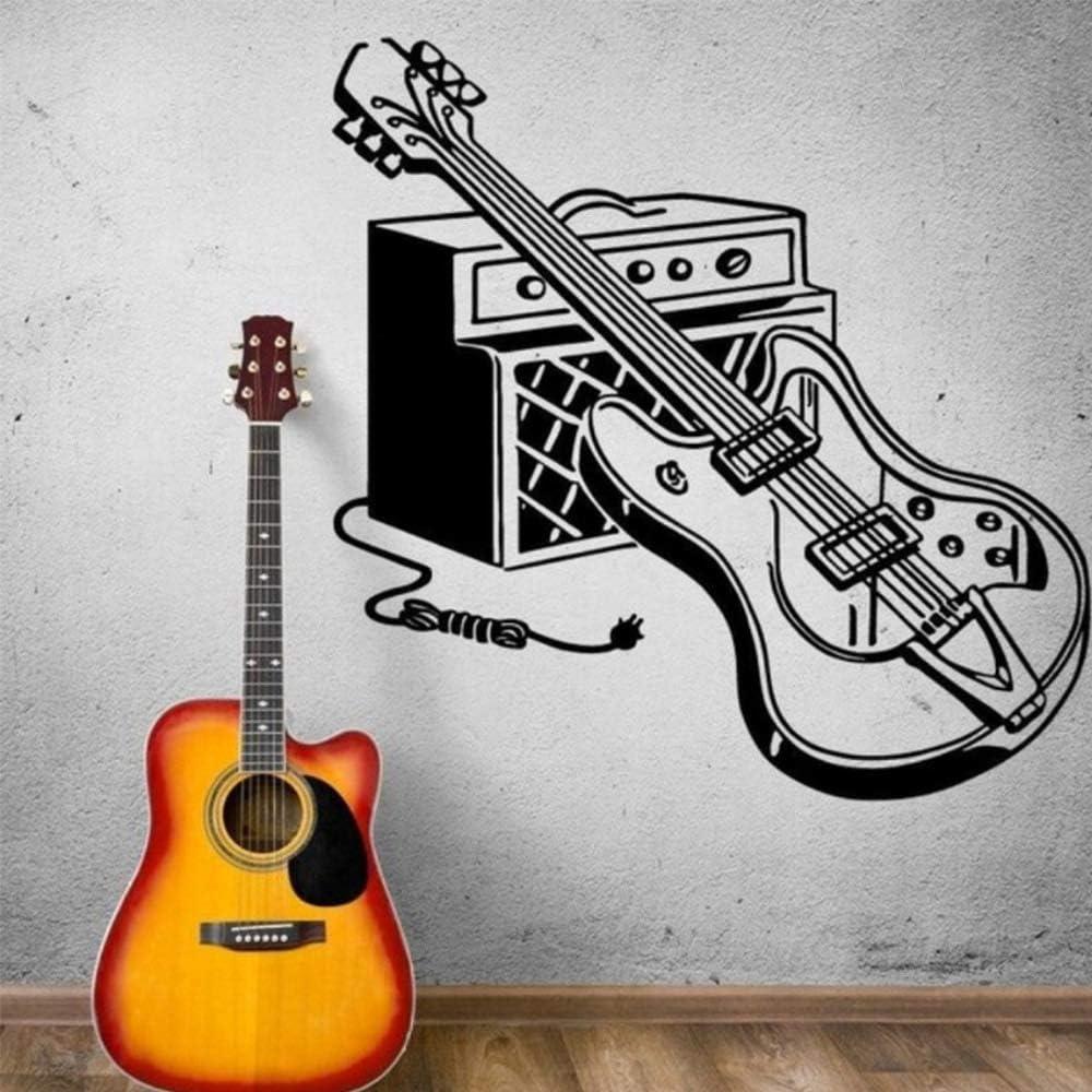 GJQFJBS Pegatinas de pared de guitarra eléctrica decoración para ...