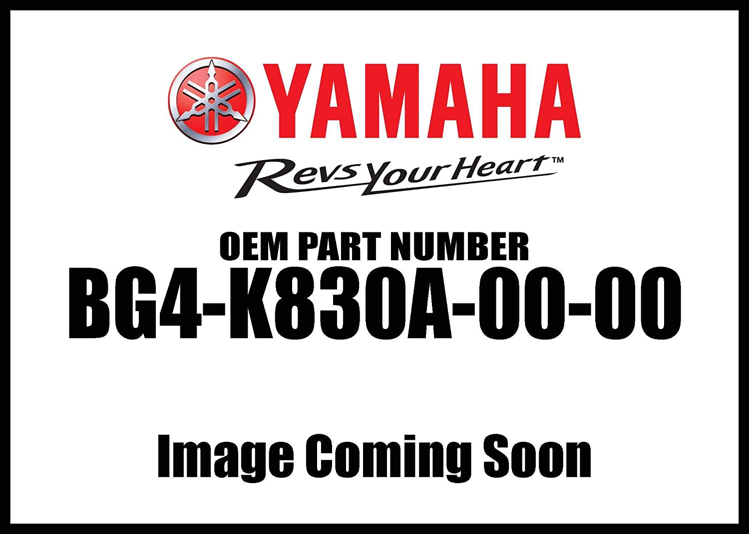 Yamaha Roof Support Assembly Bg4-K830a-00-00 New Oem