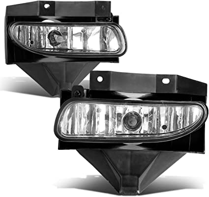 OEM NEW Right /& Left Fog Light Lamp Bezel Black Set 99-04 Ford Mustang SVT Cobra