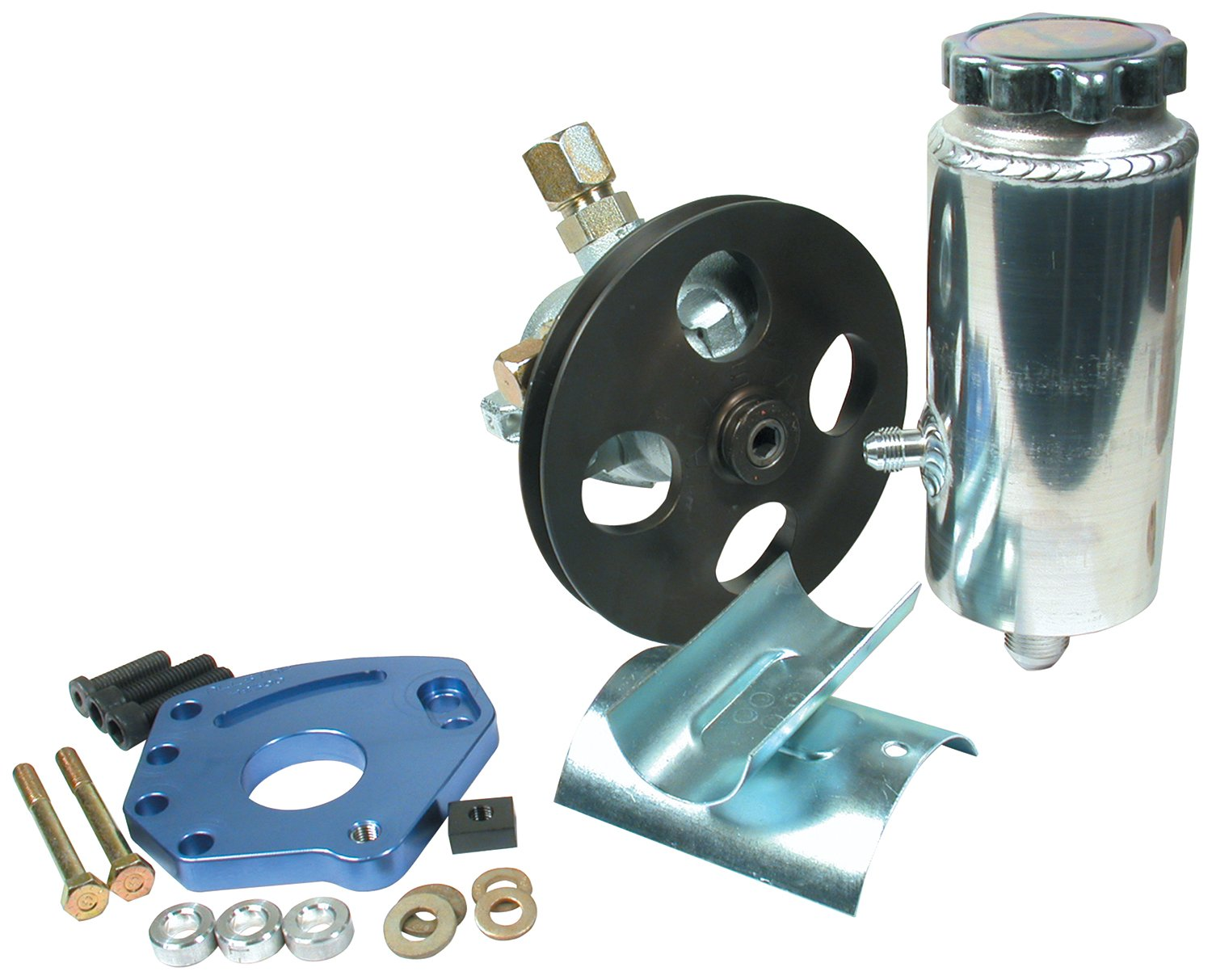 Allstar ALL48240 Head Mount Style Power Steering Kit for Small Block Chevy by Allstar (Image #1)