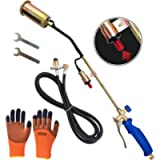 Propane Torch Stick ice and Snow Melter Weeding Burner Electronic Button igniter