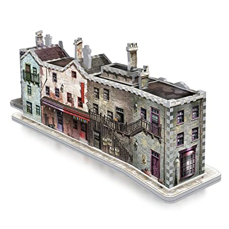 415 Pieces Harry Potter The Burrow Ron Weasley Family Home 3D Jigsaw Puzzle