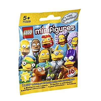 LEGO Minifigures The Simpsons Series 71009 Building Kit: Toys & Games