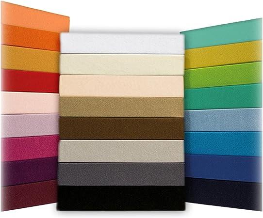 Leonado/Vicenti Drap-housse classique en jersey 100//% coton drap de lit de marque de qualit/é conforme /à la norme /Öko/Tex Standard/100 160 x 200 cm 140 x 200 cm Coton bleu clair