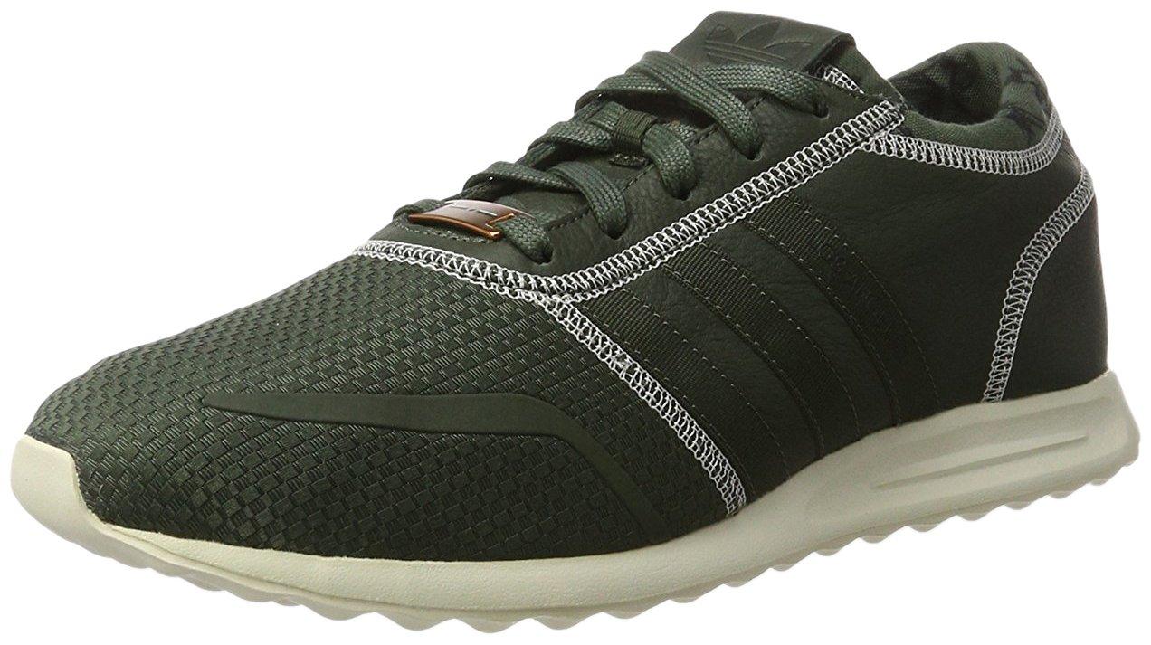 Adidas los Angeles, Zapatillas para Hombre 44 2/3 EU|Verde Oscuro