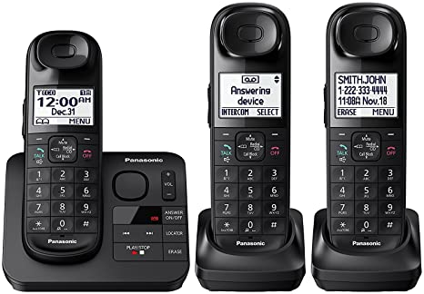 amazon com panasonic kx tgl433b kx tg3683b dect 6 0 3 handset rh amazon com panasonic kx tg1061 manual pdf