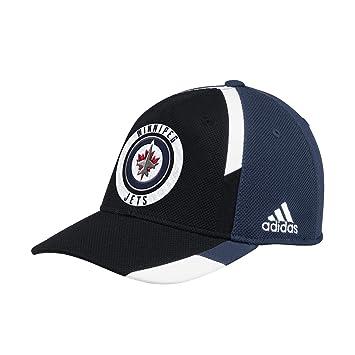1bb52b0f124 adidas Winnipeg Jets Echo Flex Fit NHL Cap  Amazon.co.uk  Sports ...