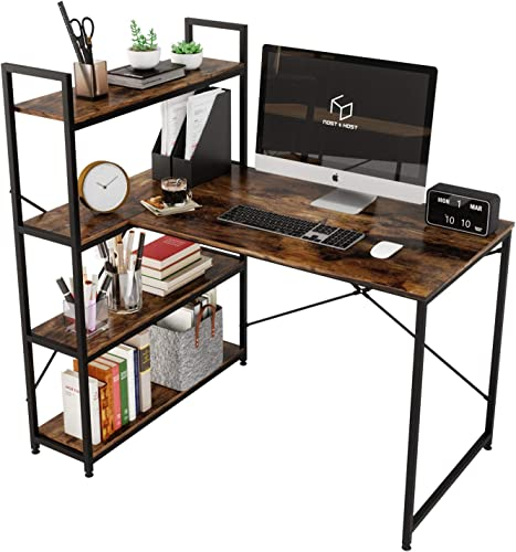 Nost Host 46 Inch Small L Shaped Desk
