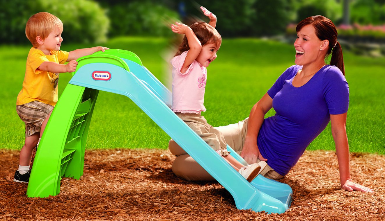 Little Tikes First Slide (Blue/ Green) by Little Tikes (Image #3)
