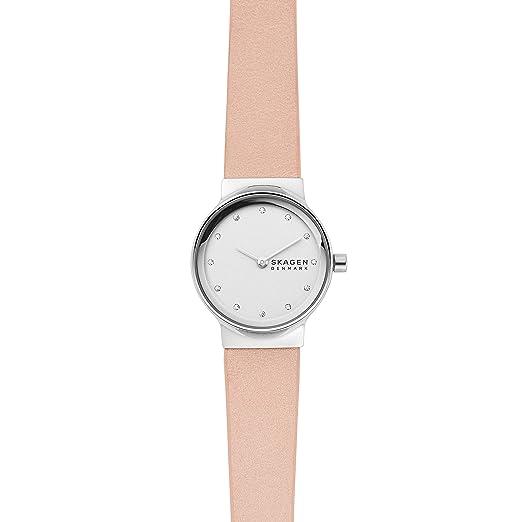 Skagen Reloj Analógico para Mujer de Cuarzo con Correa en Cuero SKW2770: Amazon.es: Relojes