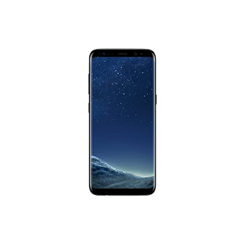 Samsung Galaxy S8 Smartphone débloqué 4G (Ecran : 5,8 pouces - 64 Go - 4 Go RAM - Simple Nano-SIM - Android Nougat 7.0) Noir (Reacondicionado Certificado)