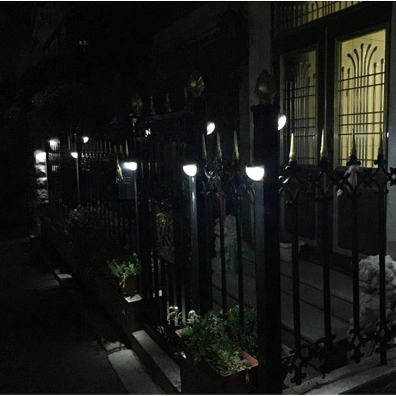 Mandii LED Solar Wall Light Fence Light Solar Light Outdoor Waterproof Garden Step Lights by Mandii (Image #7)