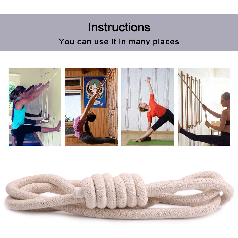 Yoga Sport Fitness Yoga pared cuerdas equipo herramienta ...