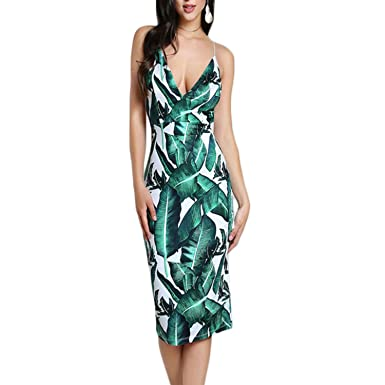 41bff72e6f191 private-space-Aurelie Backless Fitted Slip Tropical Print Sexy Women ...