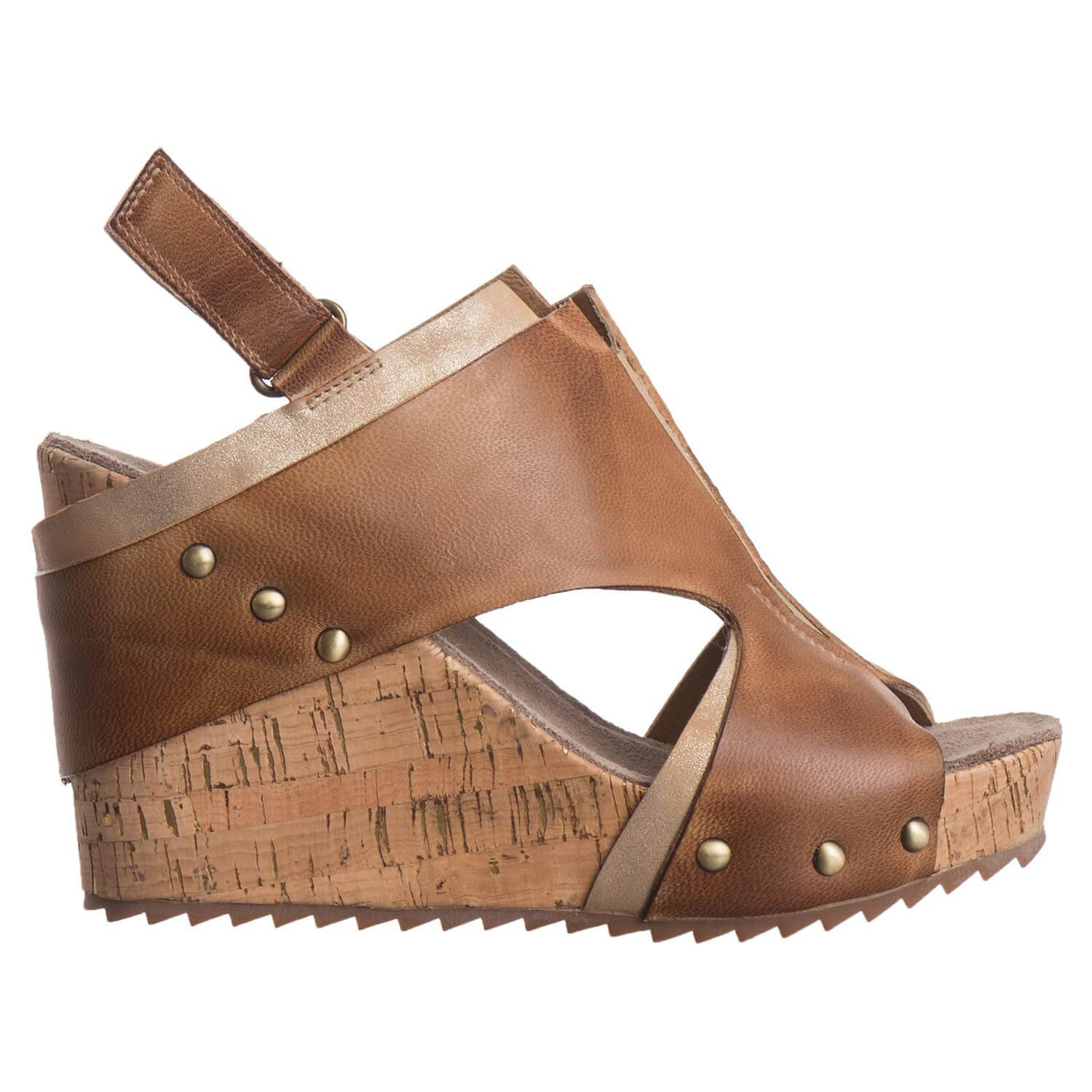 Antelope Women's 734 Leather Ovenlap Cutouts B079G4Y15D 7 B(M) US / 38 EU|Taupe