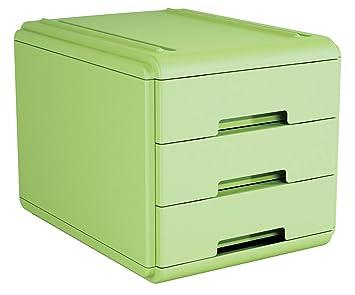 Arda 19p3pv cajonera, verde: Amazon.es: Oficina y papelería