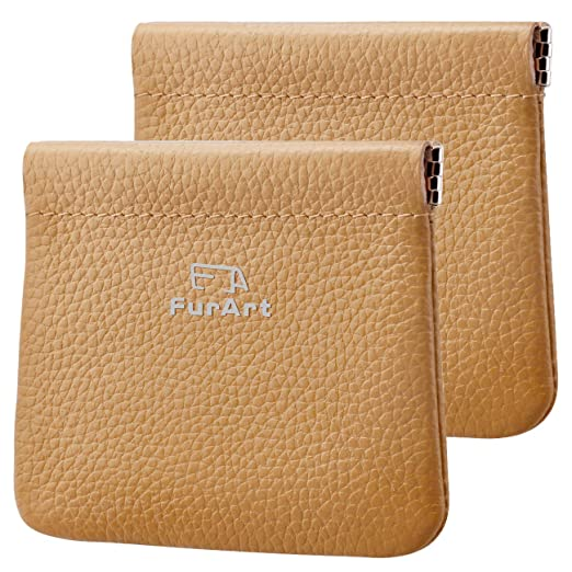 Amazon.com: Paquete de 2 bolsas de piel auténtica para ...
