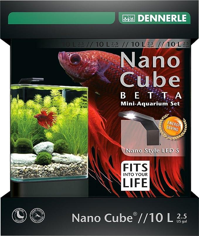 Dennerle Nano bettacube Estilo Accesorio LED para acuariofilia 10 L Talla S: Amazon.es: Productos para mascotas