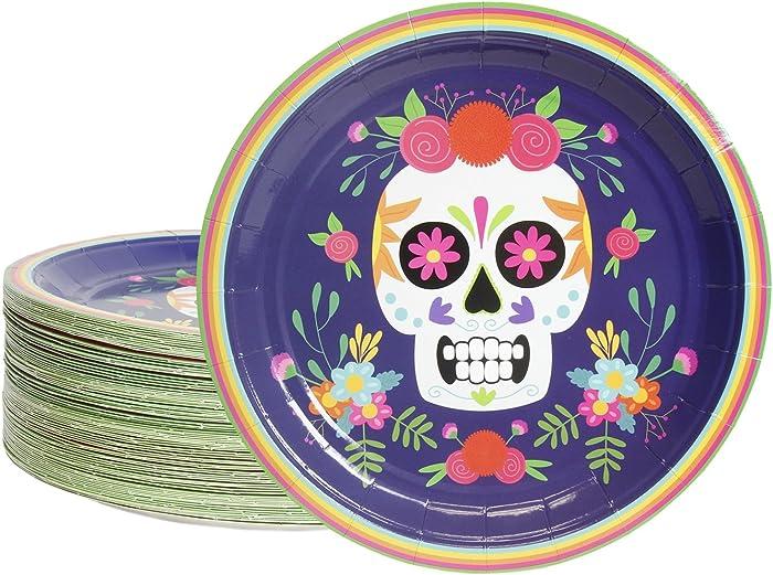 The Best Dios De Muertos Food Plates