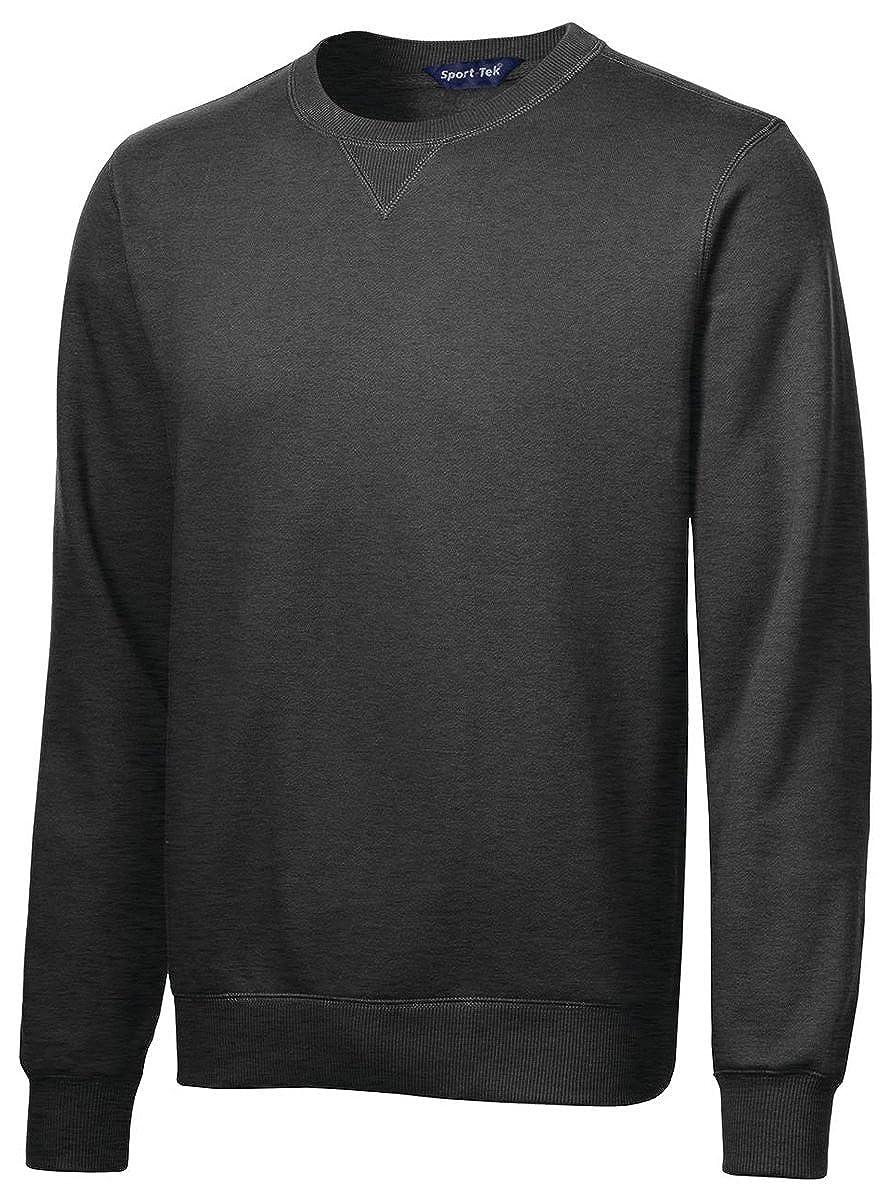 Sport-Tek Mens Comfort Waistband Crewneck Sweatshirt